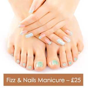 Fizz & Nails Manicure – £25