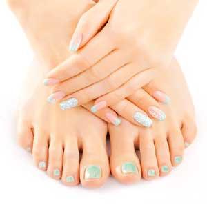 Manicures & Pedicures