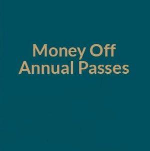Money Off Annual Passes
